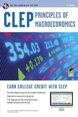 Clep Principles of Macroeconomics With Online Practice Tests By Sattora, Richard